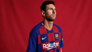 پیراهن اول بارسلونا