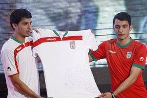 لباس تیم ملی ایران جام جهانی 2014